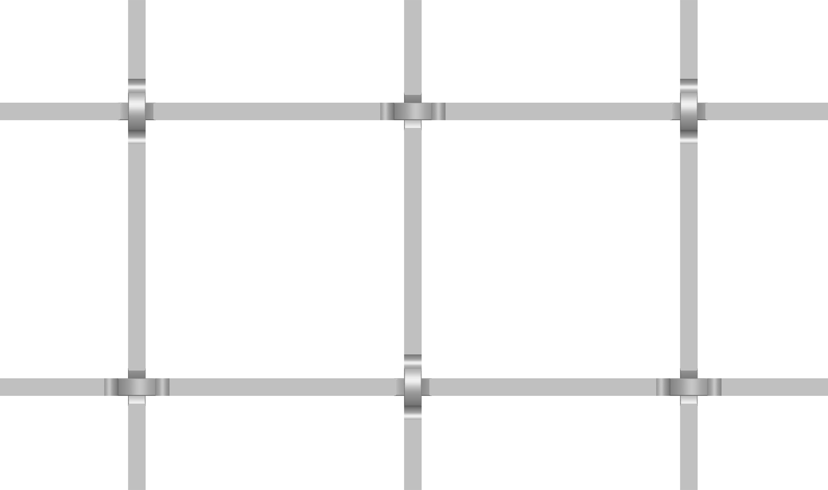 (S-59) large square wire woven pattern
