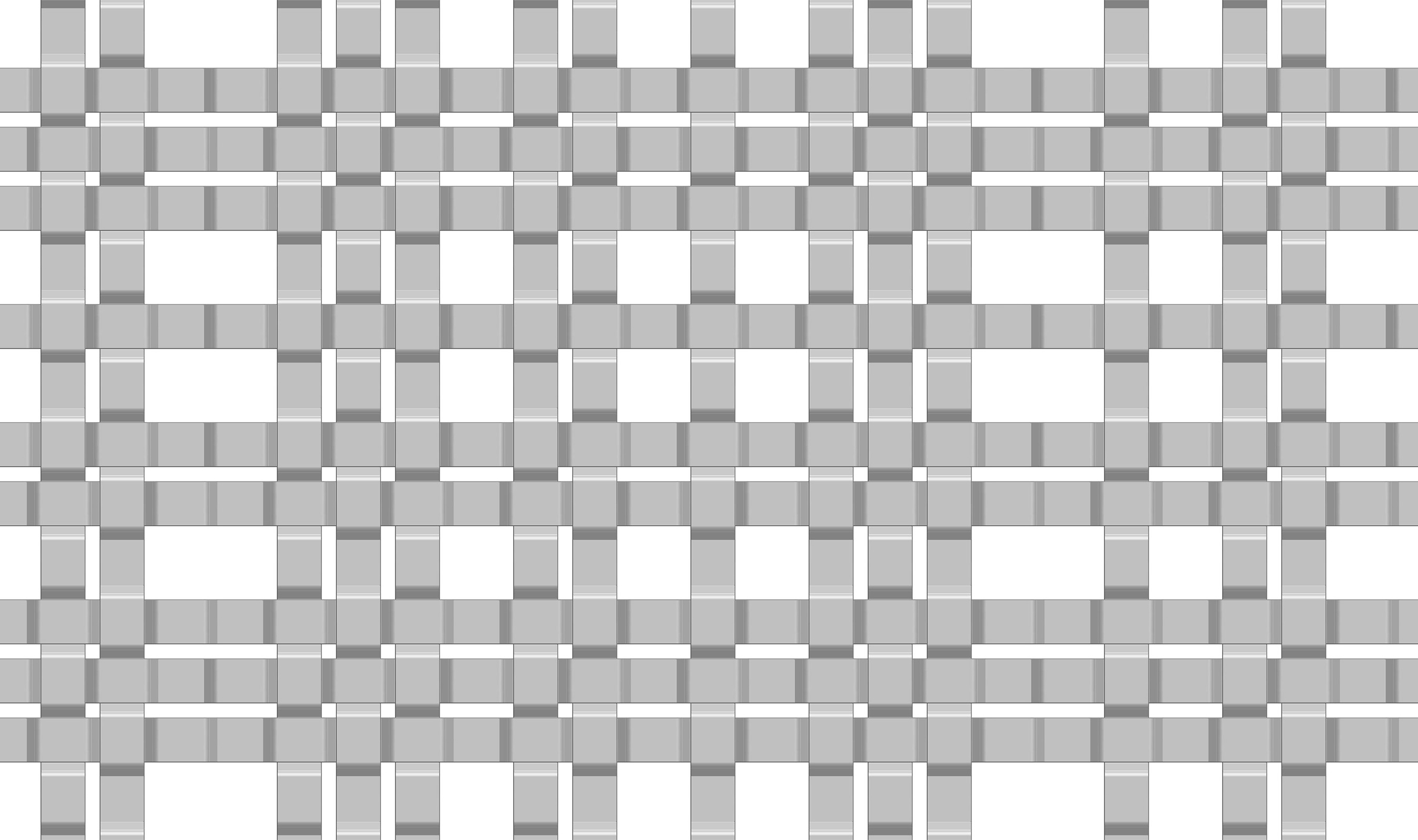 SJD-31 large wire mesh pattern drawn in CAD