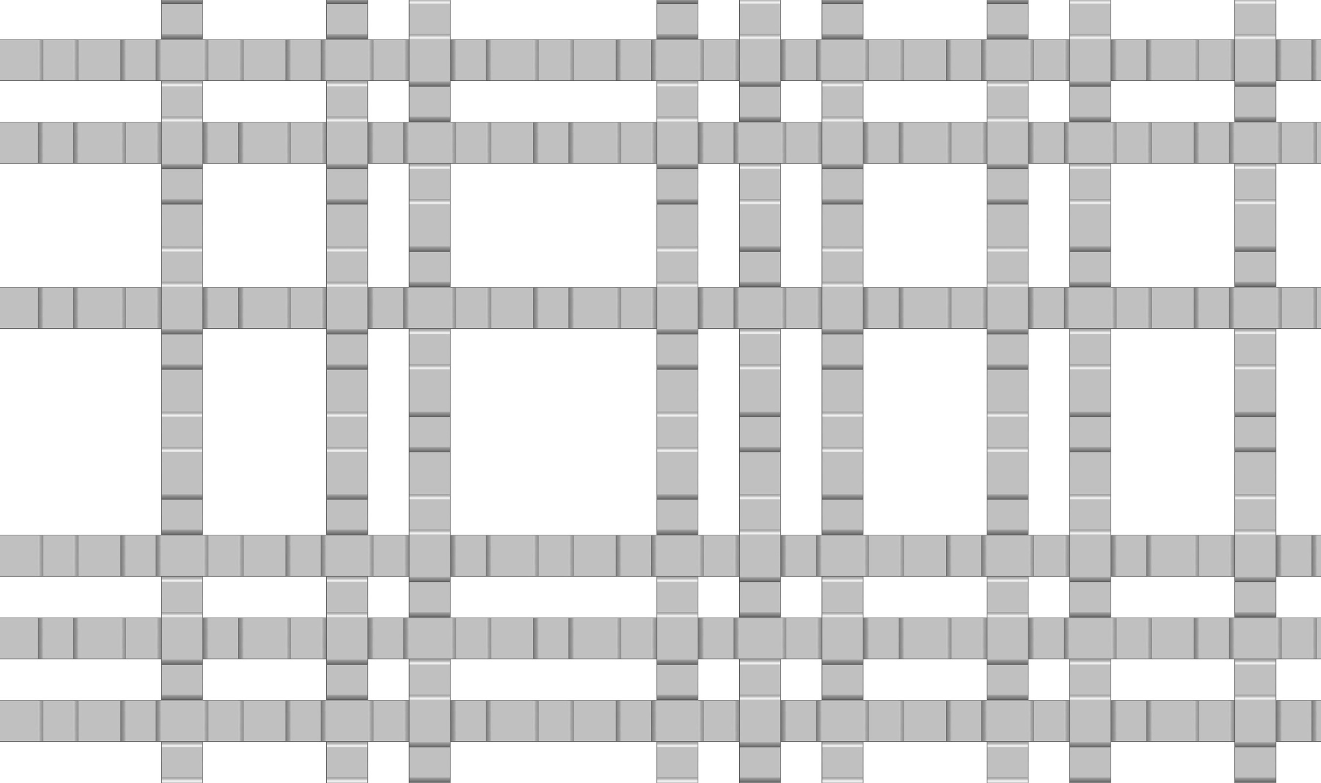 SJD-41 large wire mesh pattern drawn in CAD
