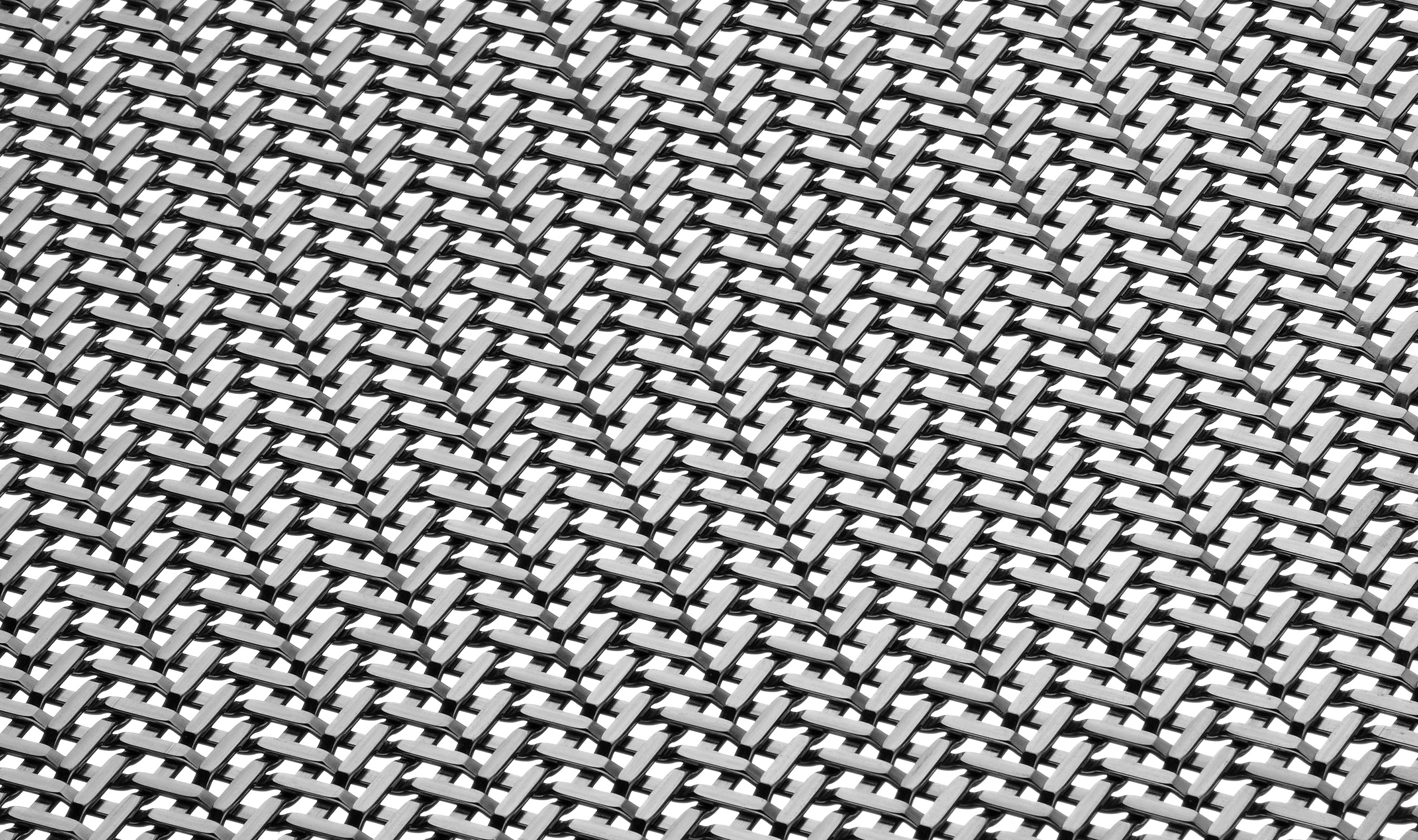 TW-1 Angle in Stainless Woven Wire Mesh