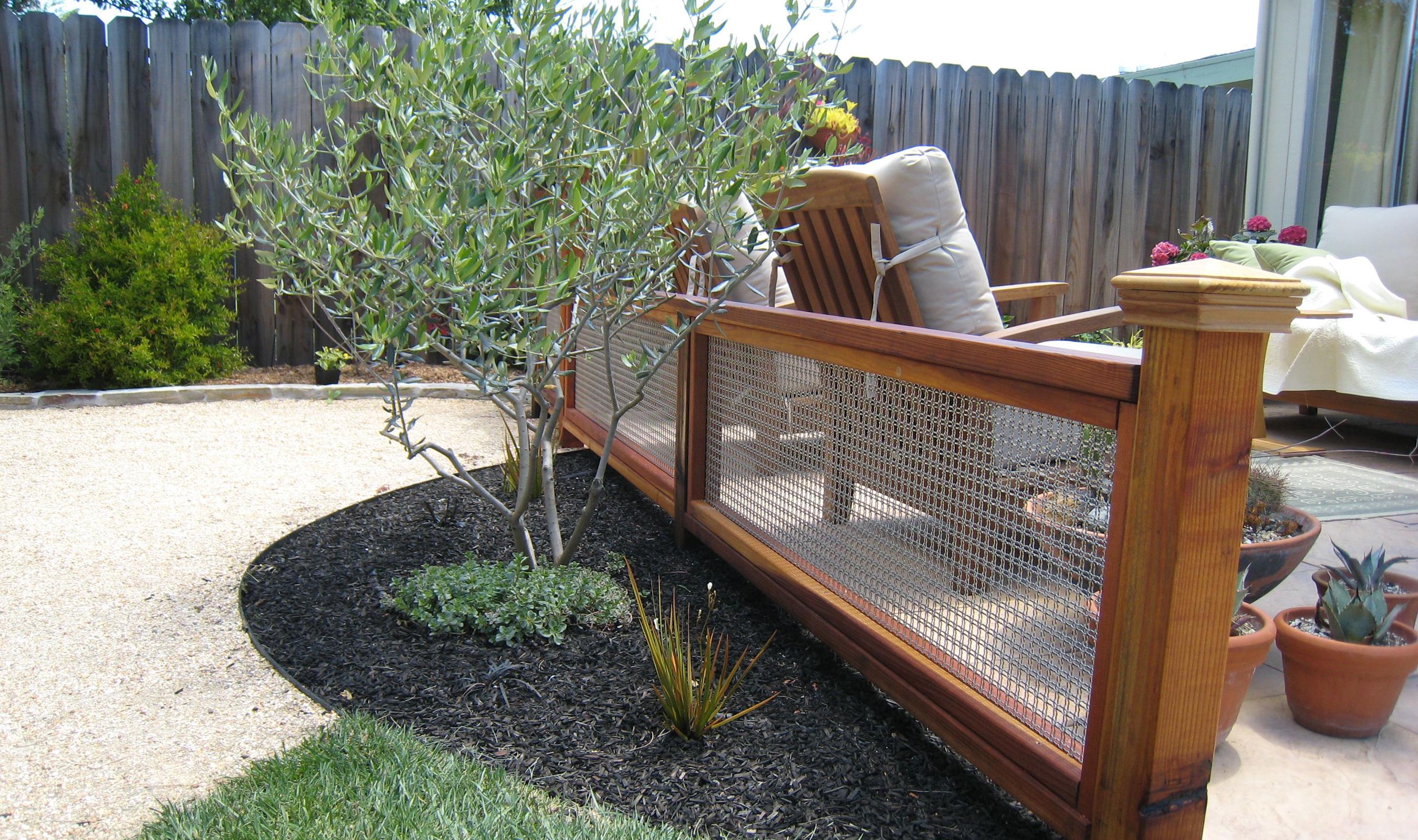 DIY Backyard Fence