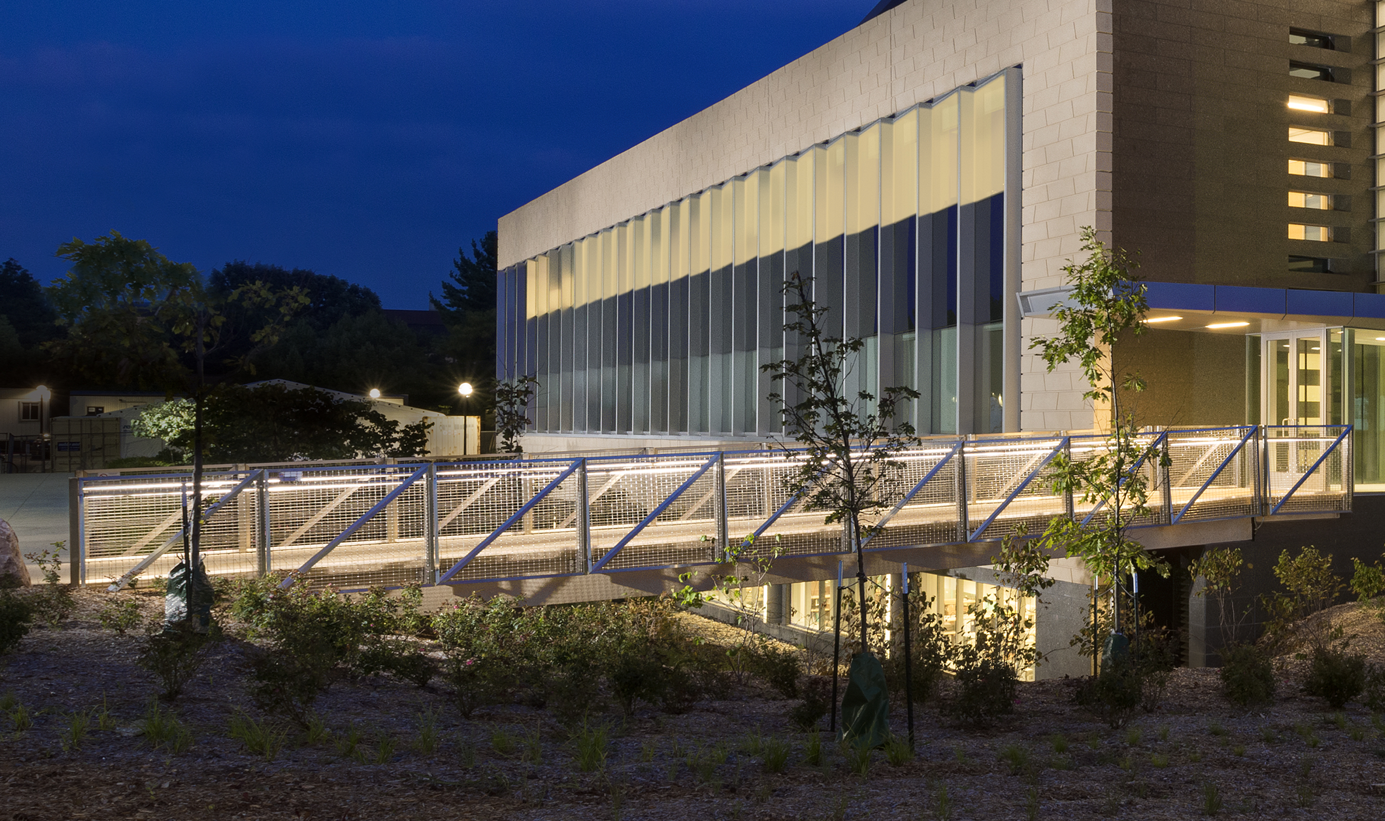 LZ-55 was selected as part of the railing for the GG Brown Building at the University of Michigan.