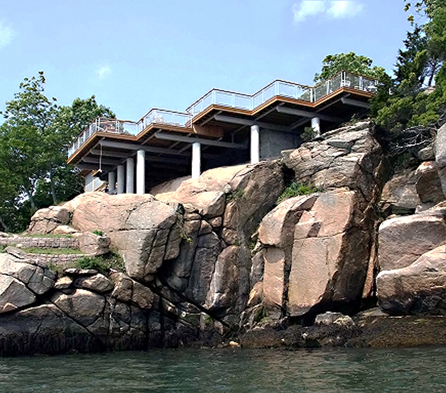 L-62 allows for views of the natural beauty on this property.