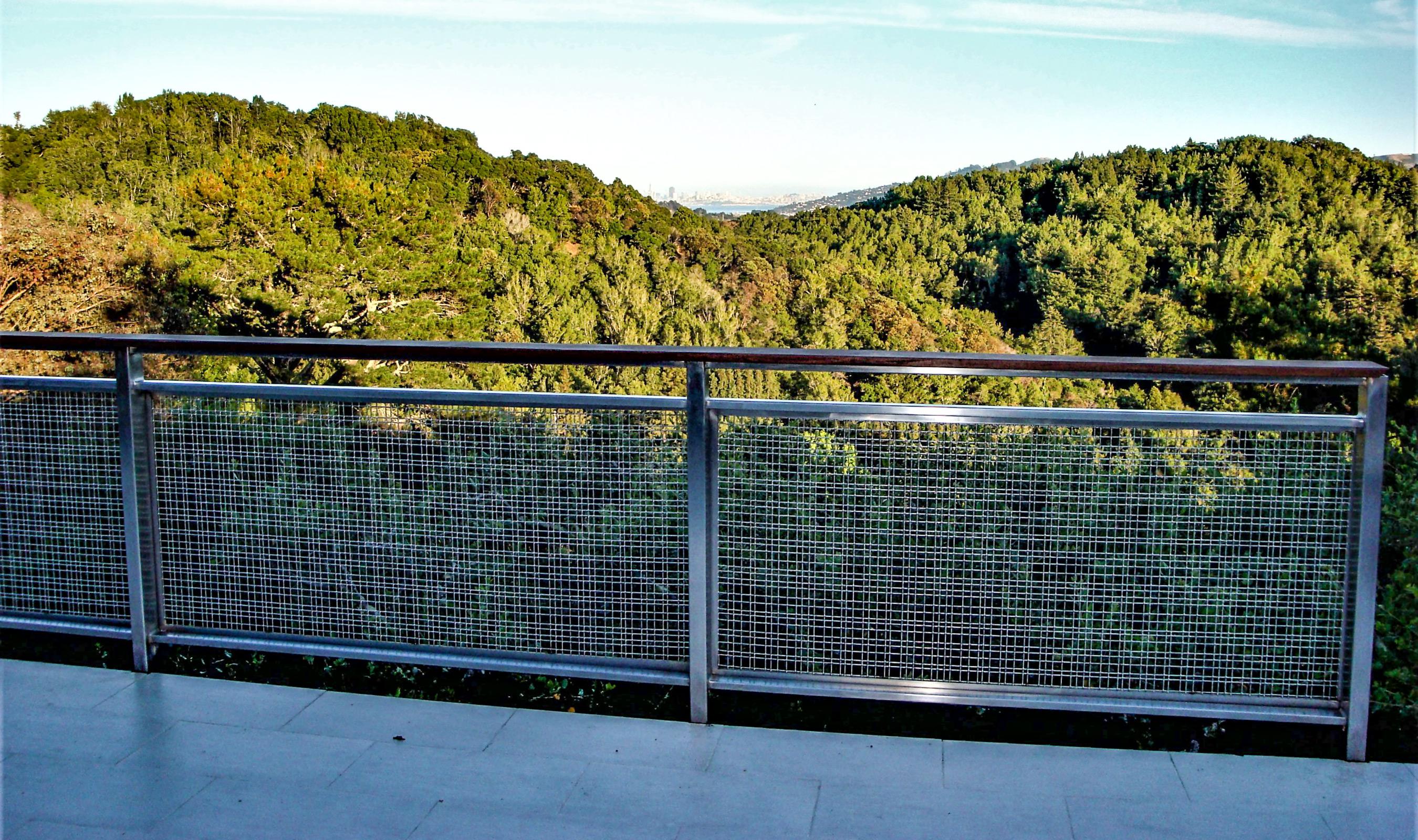 SJD-2 stainless steel deck railing infill panels