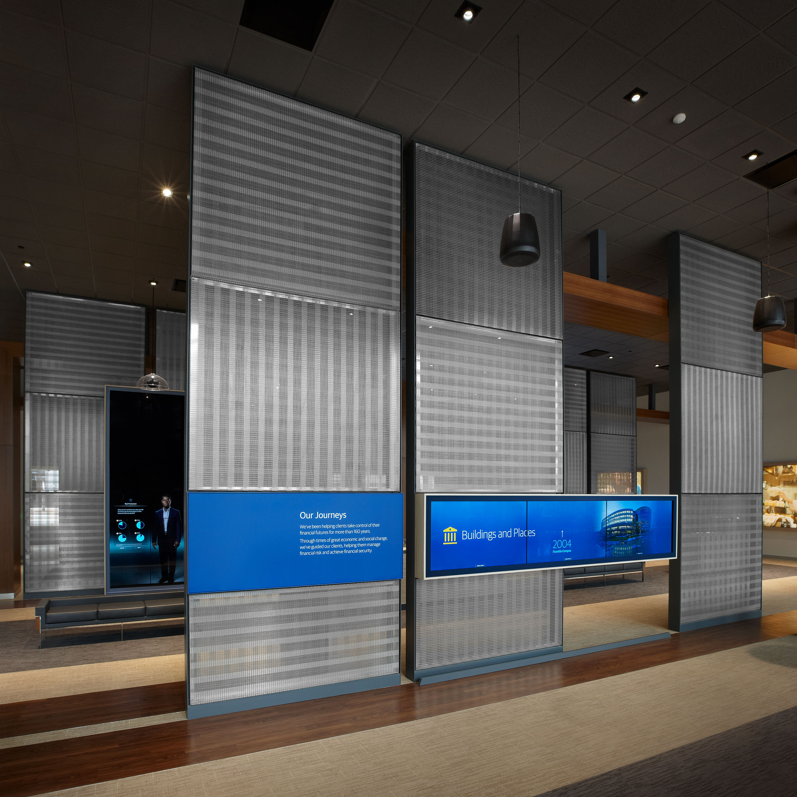 Downstream, the designer of the experience, thoughtfully crafted the exhibit space.