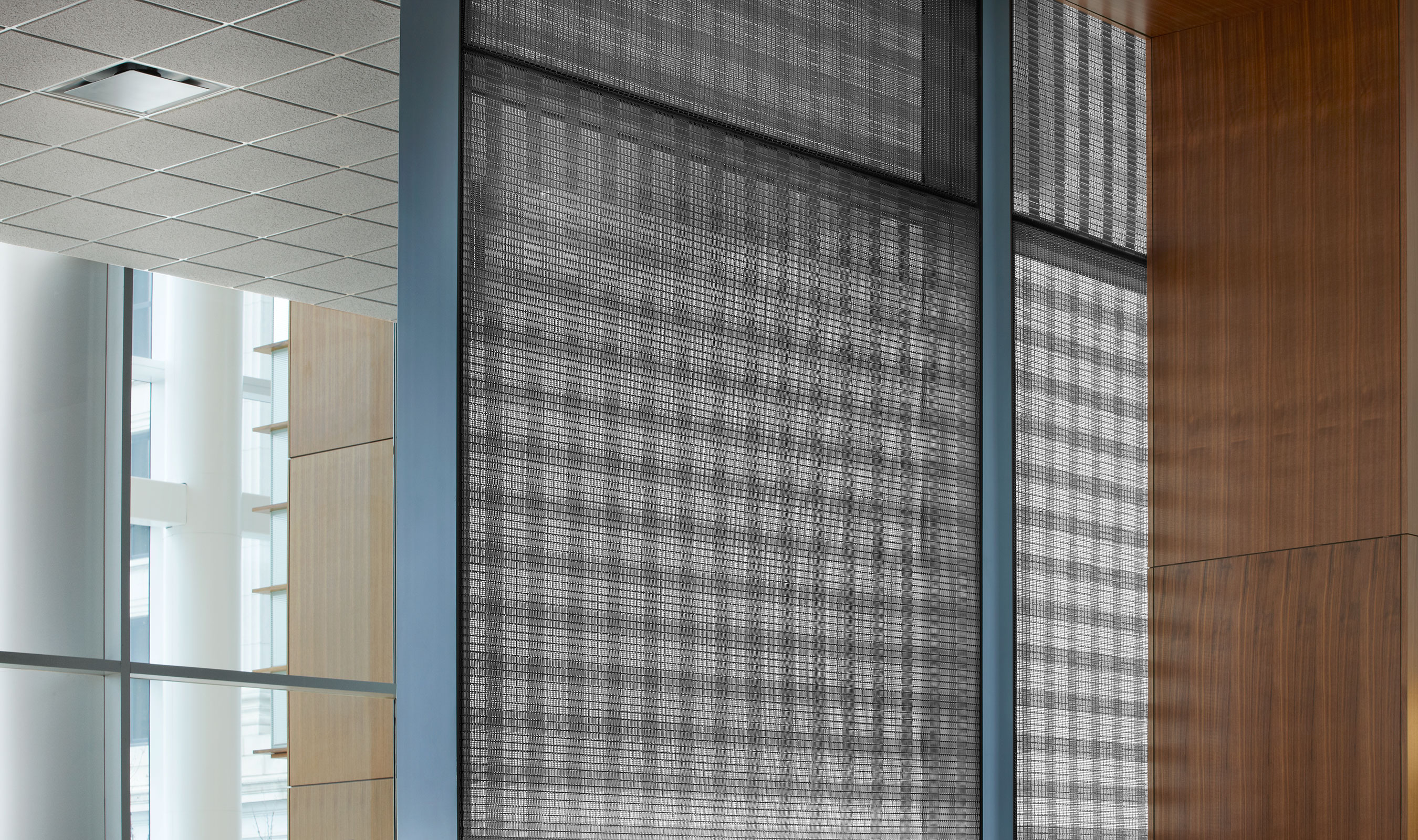 PFZ-53's stripes create unique high and low transparency areas in the design.