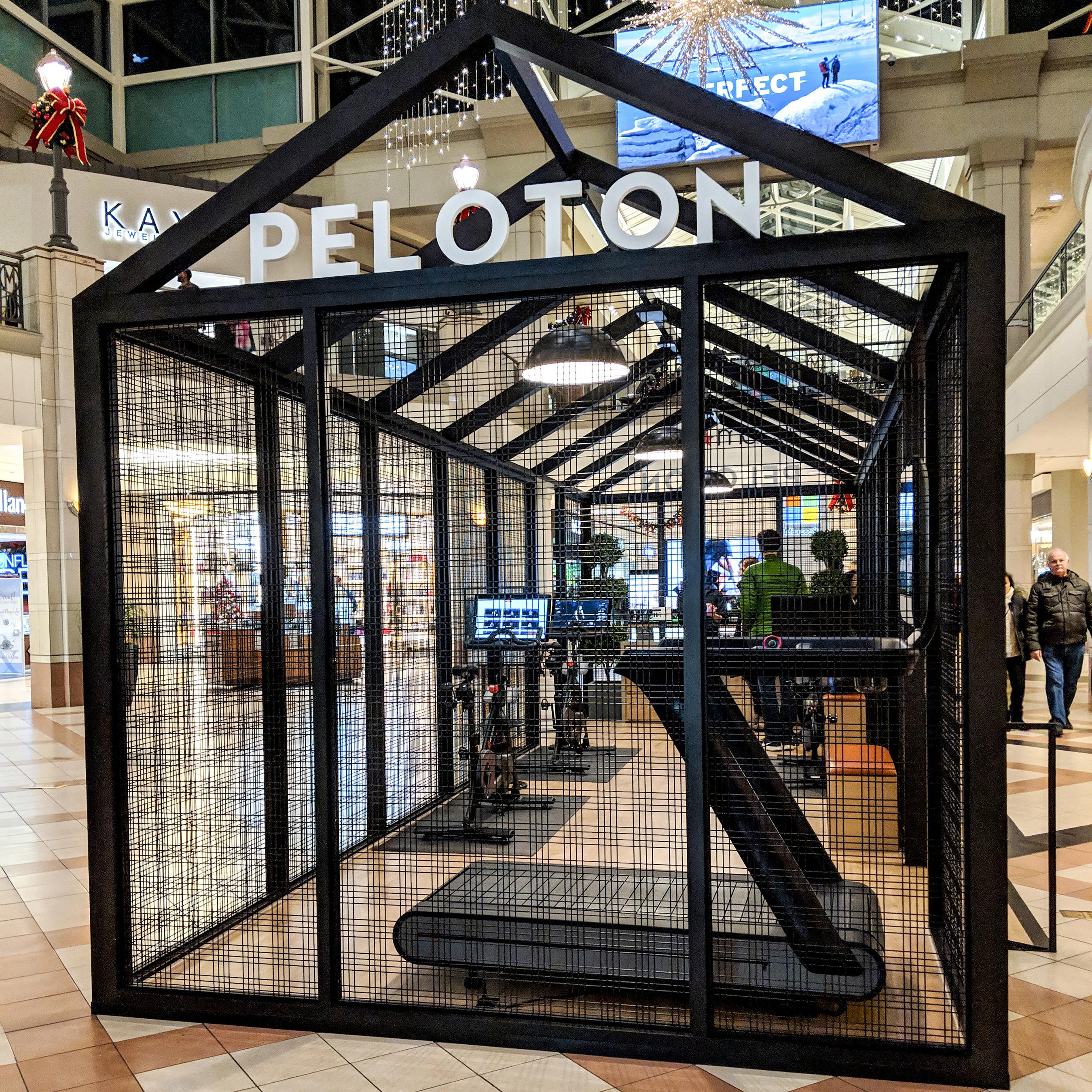 Peloton Showroom Kiosks