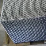 Consistent wire mesh shear cuts