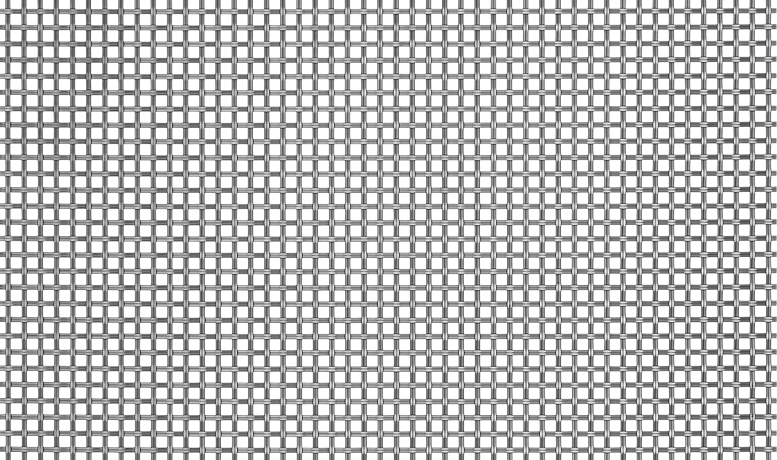 S-46 woven wire mesh in stainless steel.