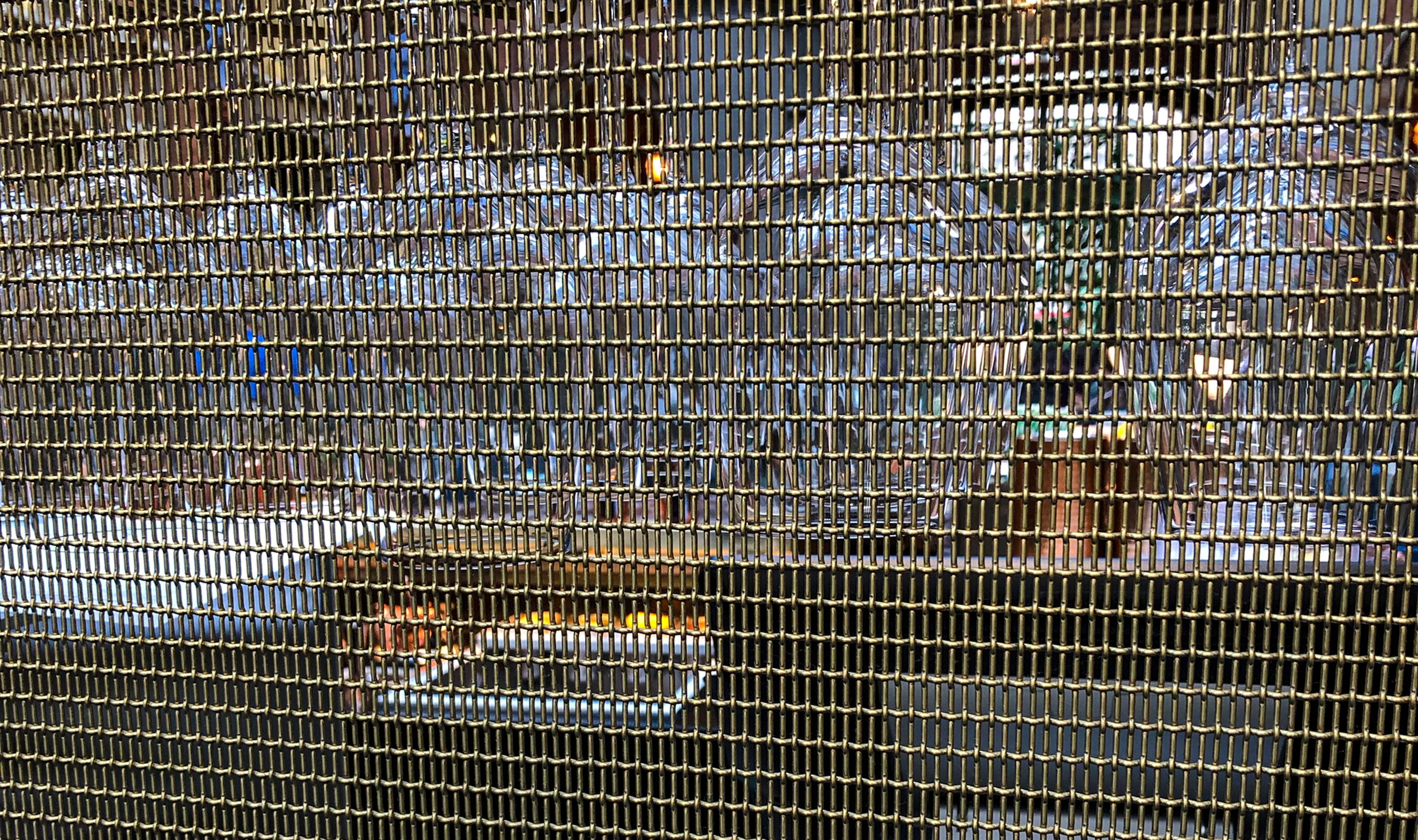 LPZ-71 is a fine woven architectural wire mesh with a low percent open area.