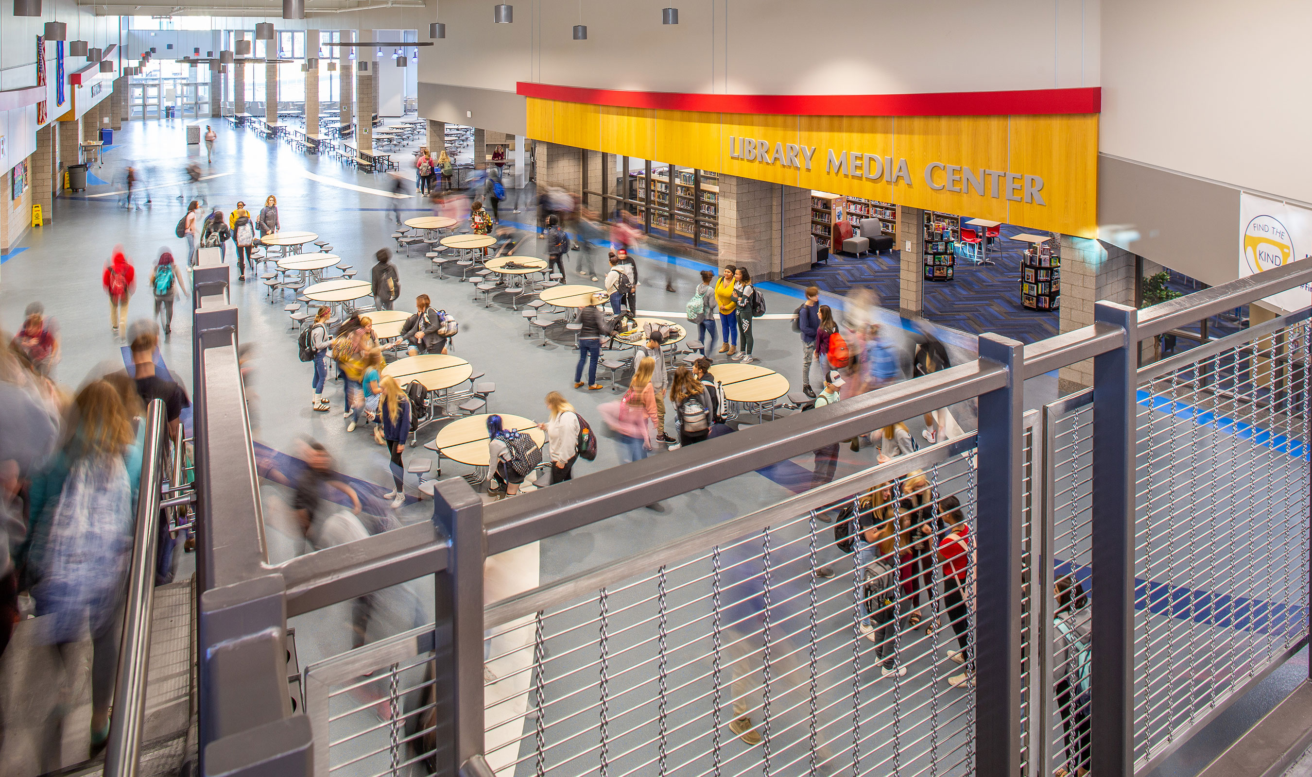 Banker Wire Mesh Specified for Superior High School Renovation Project