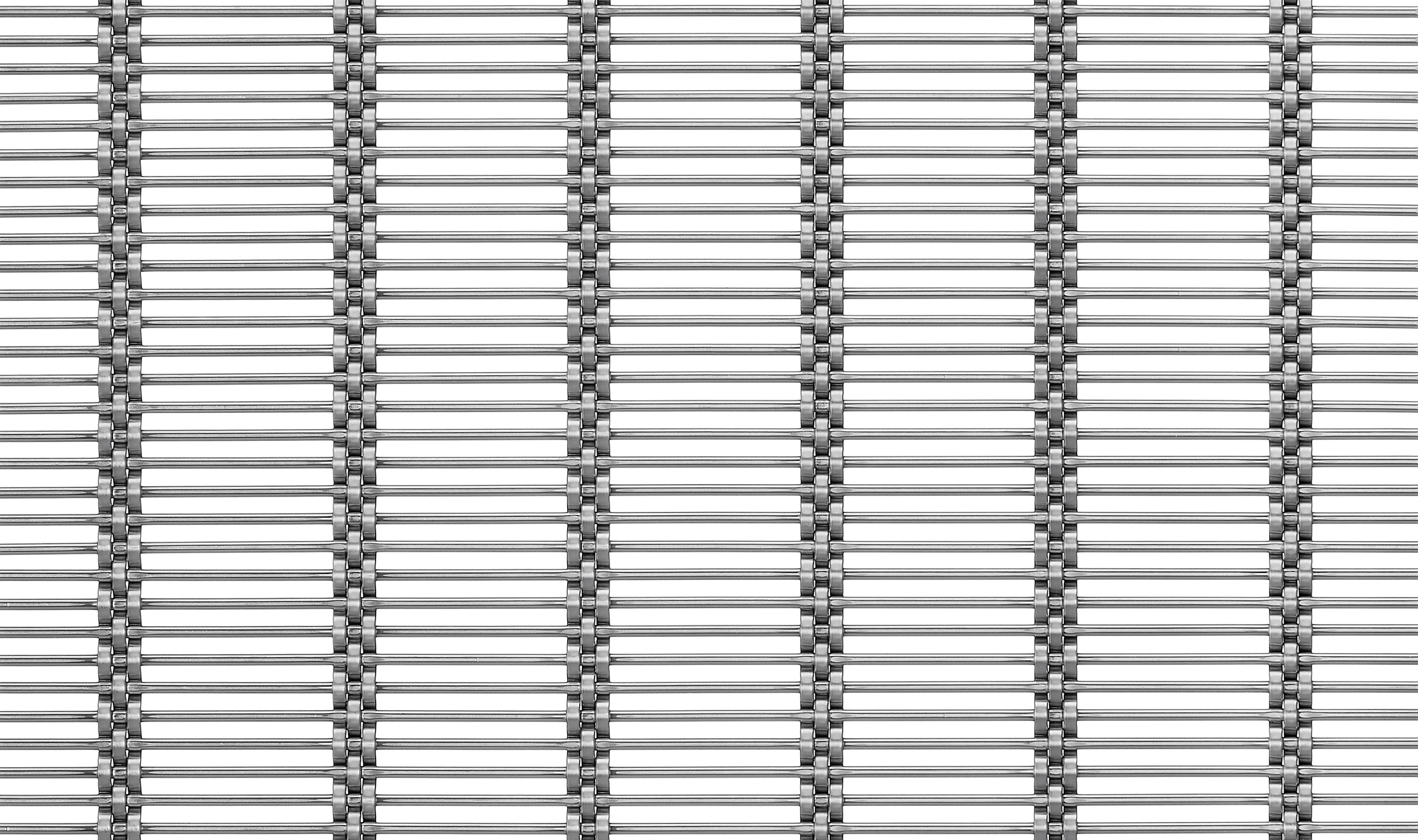 M13Z-382 rectangular decorative wire mesh mixing round and flat wires