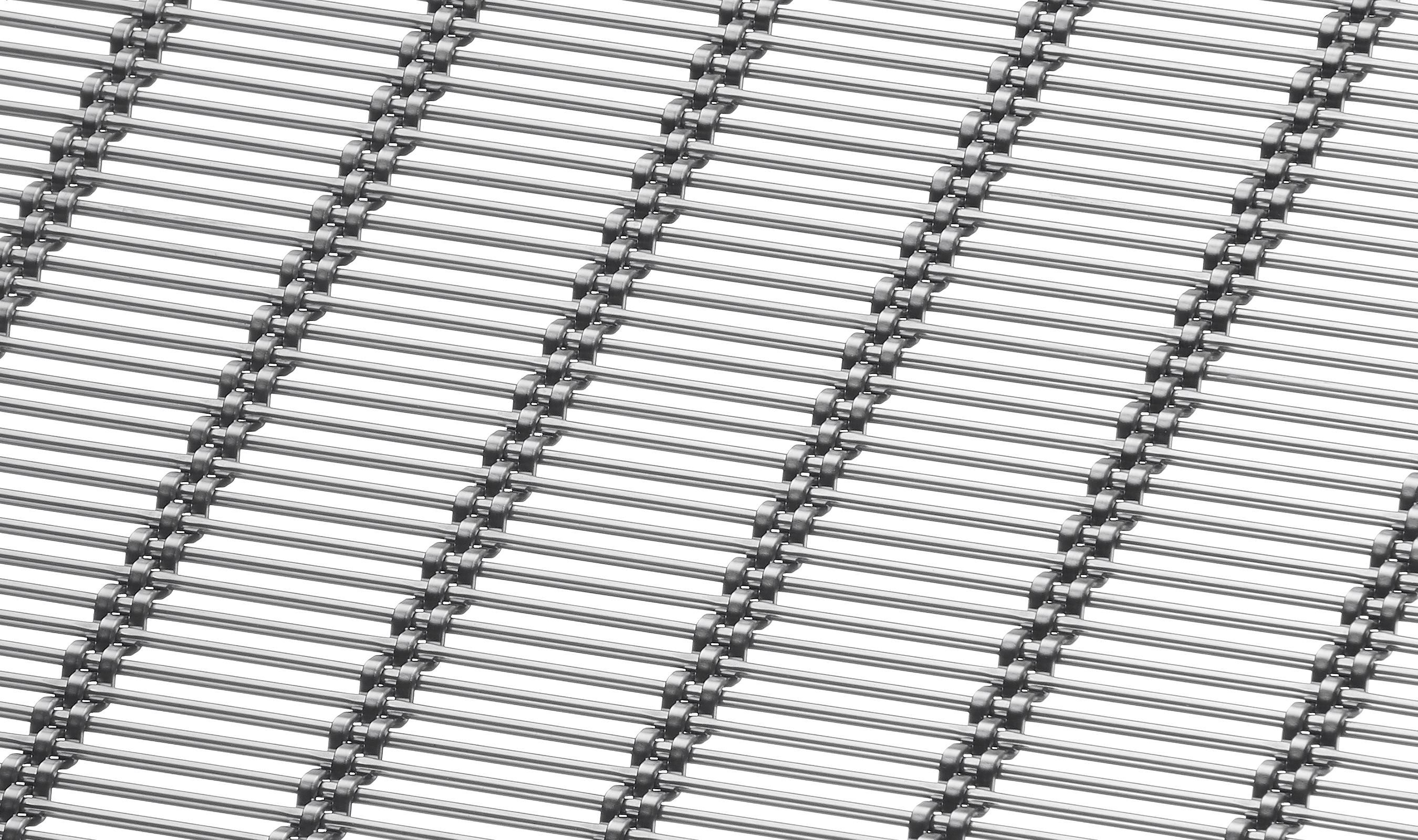 M13Z-382 architectural wire mesh pattern in stainless steel