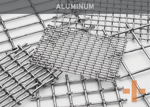 Banker Wire Aluminum Woven Wire Mesh