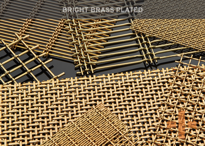 Bright Brass Plated
