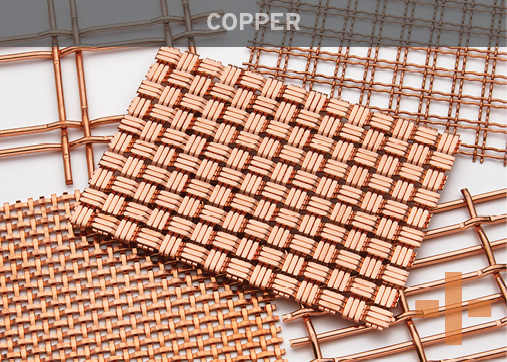 Banker Wire Copper Woven Wire Mesh