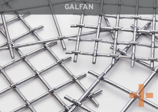 Banker Wire Galfan Woven Wire Mesh