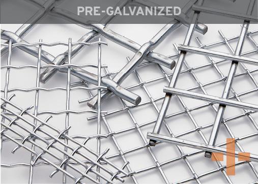 Banker Wire Pre-Galvanized Woven Wire Mesh
