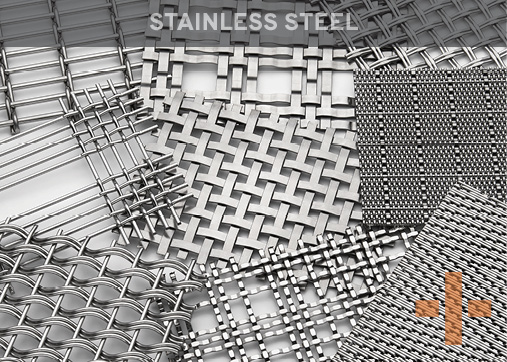 Banker Wire Stainless Steel Woven Wire Mesh