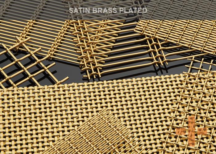 Satin Brass Plated