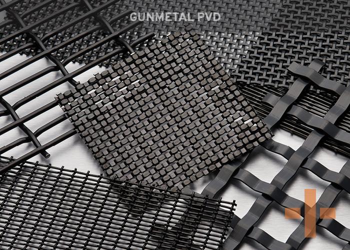 Gunmetal PVD