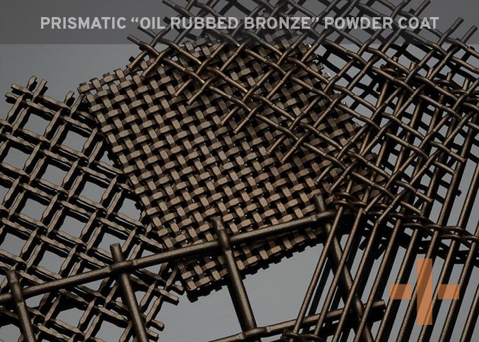 """Prismatic """"Oil Rubbed Bronze"""" Powder Coat"""