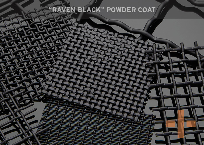 """Raven Black"" Powder Coat"