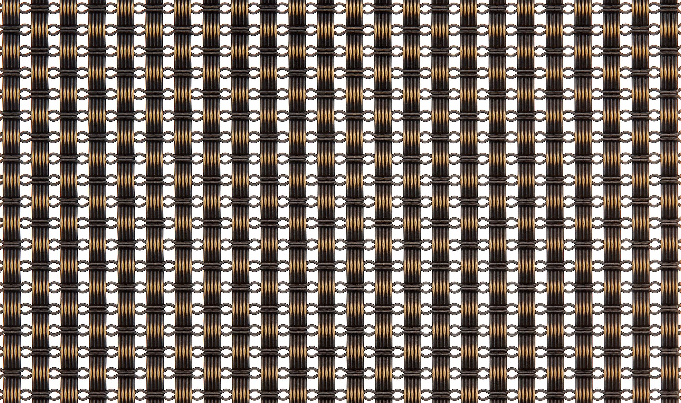 FXZ-1 Decorative Plated Wire Mesh Pattern in Antique Brass