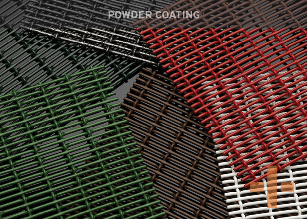 Available in these materials, are an example of our Welded mesh
