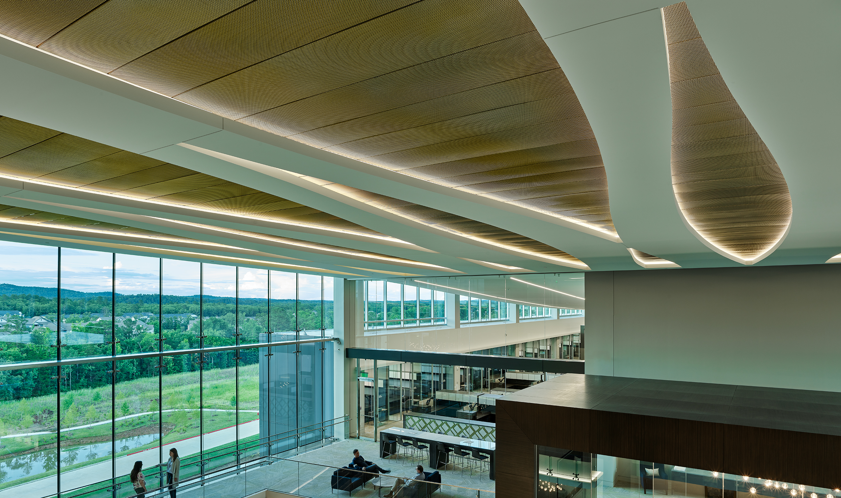 SZ-4 creates a near opaque ceiling tile to cover the underlying vents.