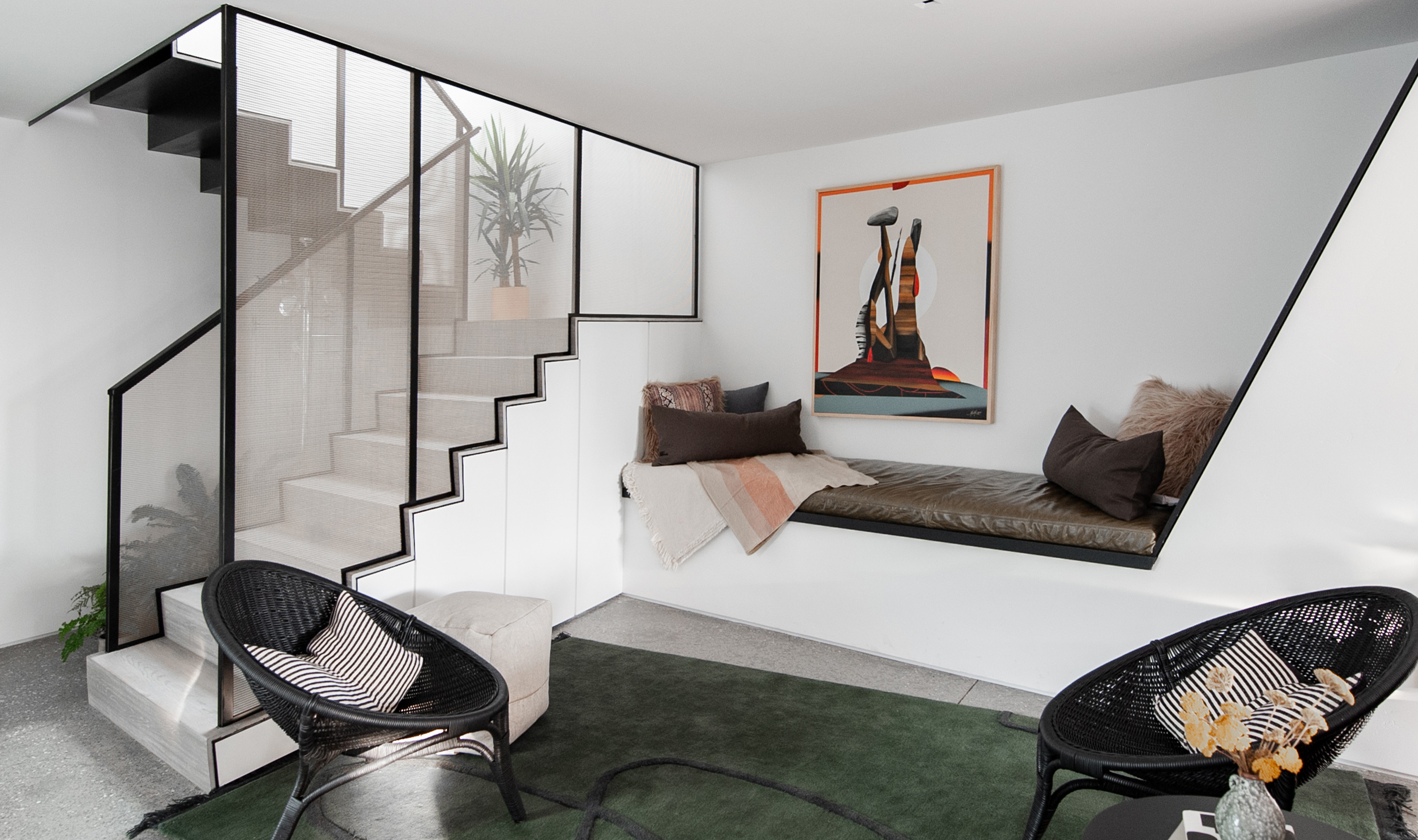 IPZ-25 makes a statement in this California residence.