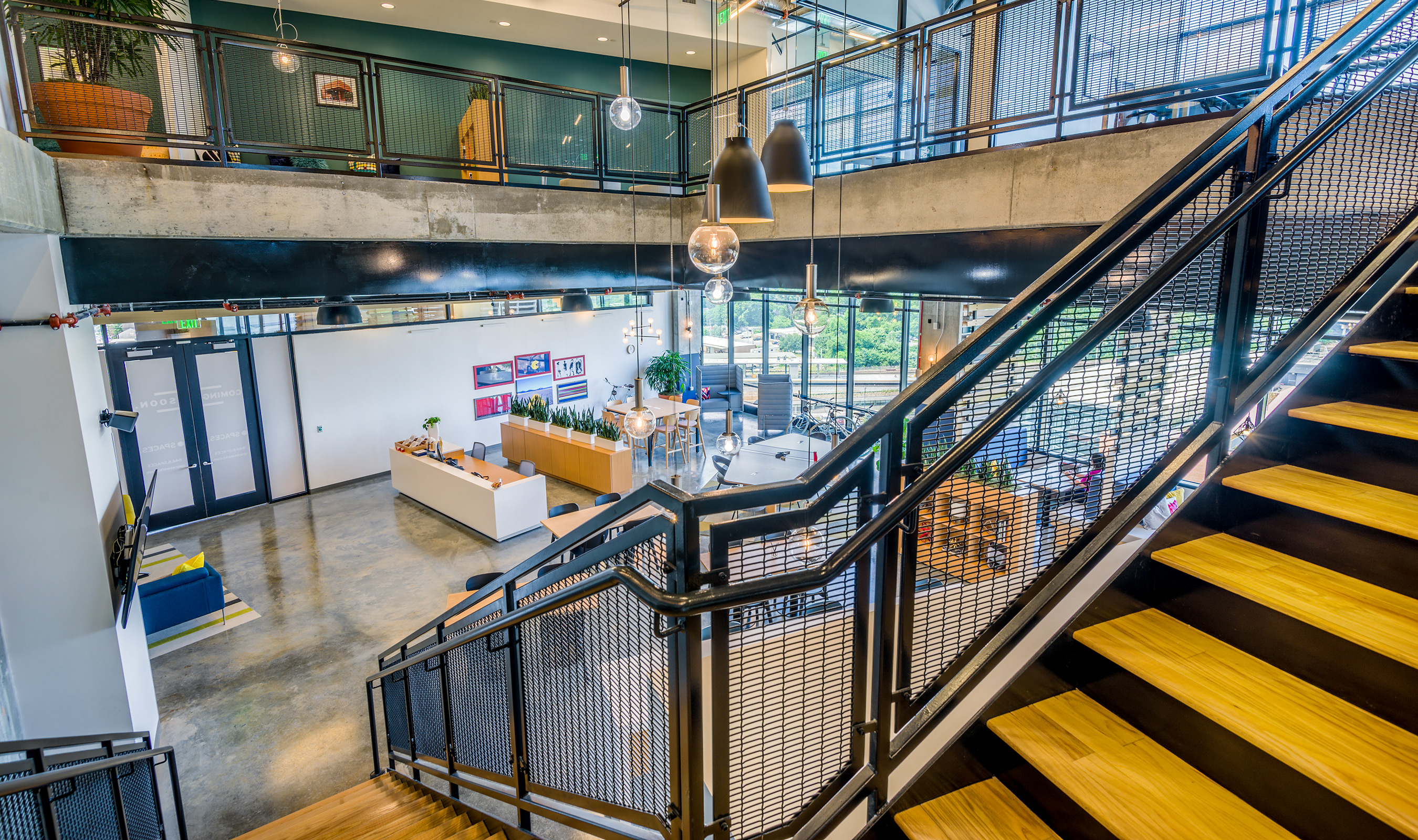 FPZ-16 adds an industrial element to the renovated warehouse.