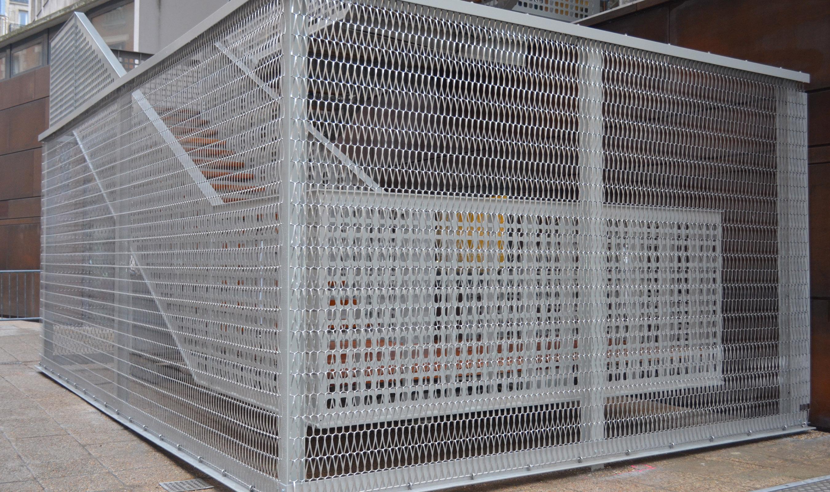 Dune 40100 Flexible Mesh installation