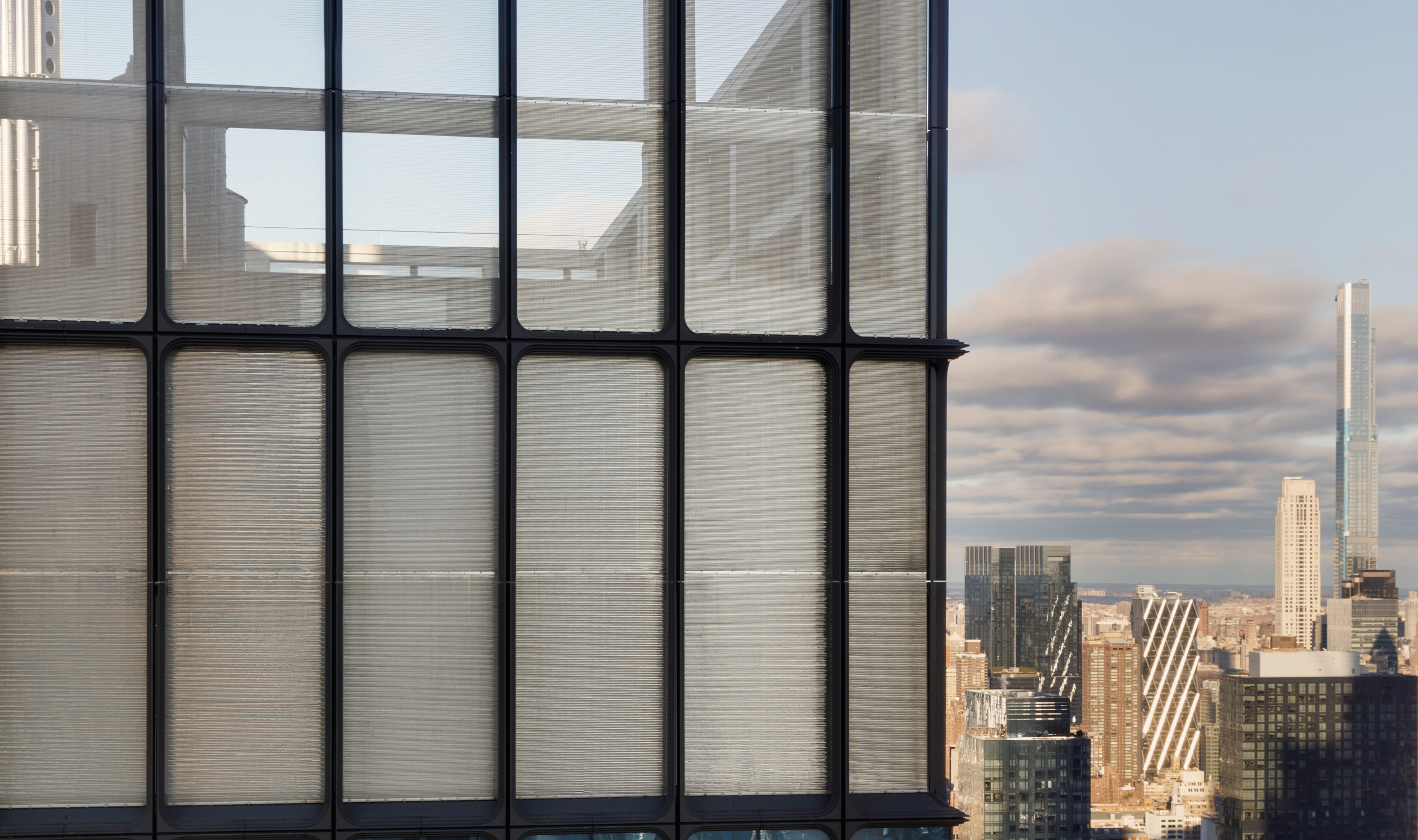 Drift spiral weave Hudson Yards